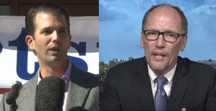 Tom Perez, Dems butt-hurt over Don Jr.'s assertion that Nazism more in line with modern Left than Right