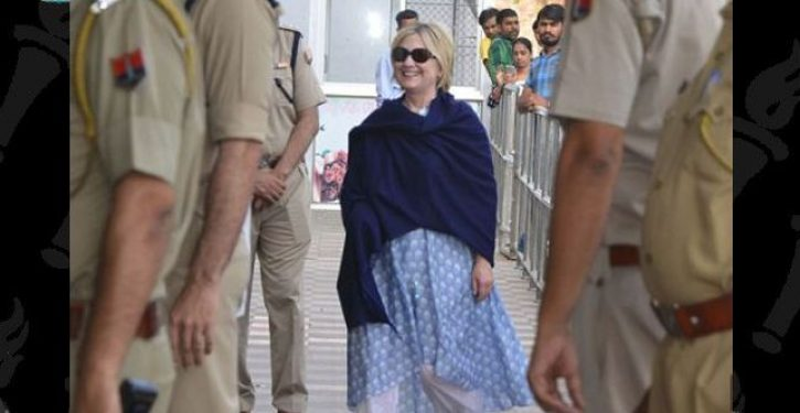 Hillary Clinton attends pre-wedding festivities for daughter of India's richest man