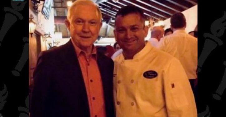 Tex Mex restaurant faces backlash after chef takes picture with AG Jeff Sessions