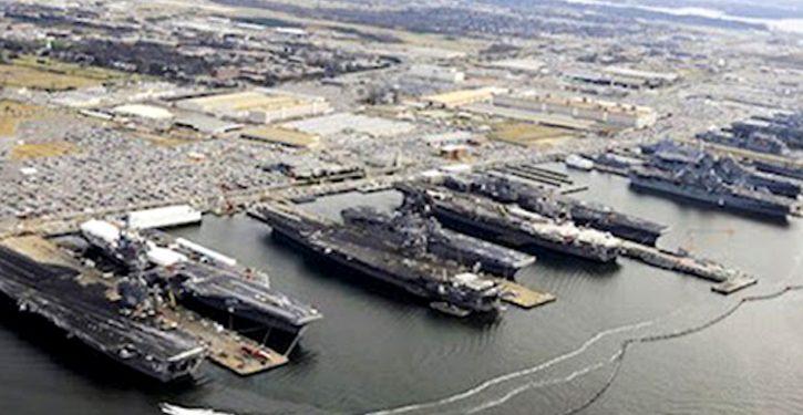 Navy reestablishes U.S. Second Fleet in Norfolk, VA