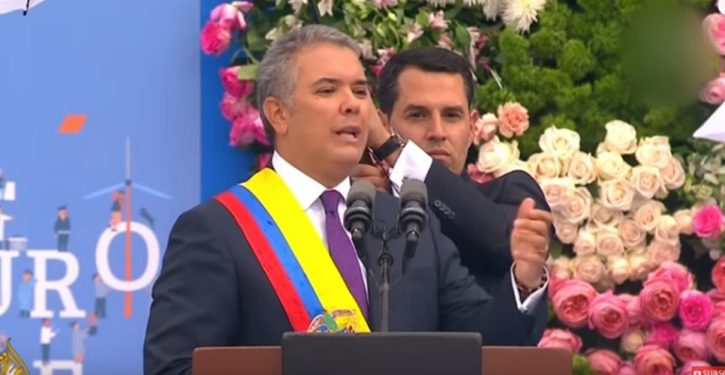 Colombia's departing president officially recognized state of 'Palestine' on way out the door