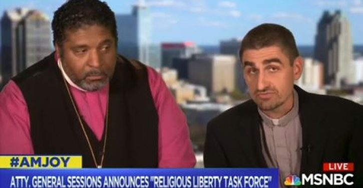 MSNBC panelist claims 'religious liberty' is rooted in history of 'slave holder religion'