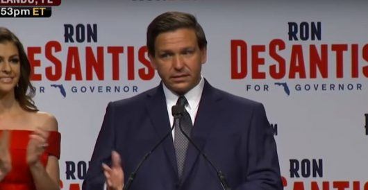 Florida gov signs 'voter suppression' bill into law by Ben Bowles