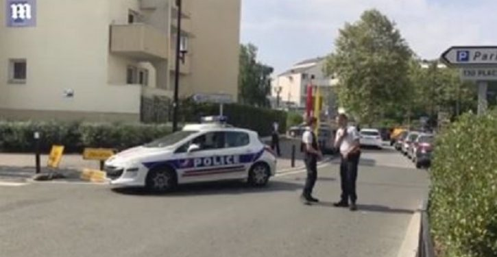 One killed, two wounded by Paris knifeman shouting 'Allahu akbar'