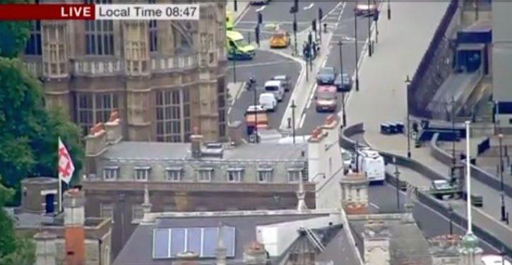 BREAKING: Vehicular terror attack on Parliament; three injured