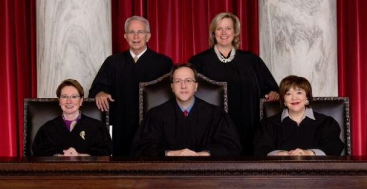 One state's Supreme Court is so corrupt that every justice faces impeachment