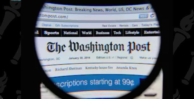 Washington Post warns of fake edition circulating
