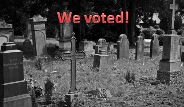 A program to level the playing field so more illegals, criminals, and dead people can vote by Guest Editorial