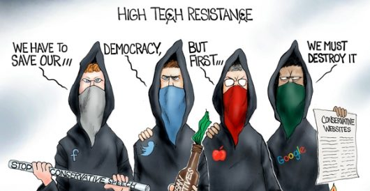 Cartoon of the Day: Tech got your tongue? by A. F. Branco