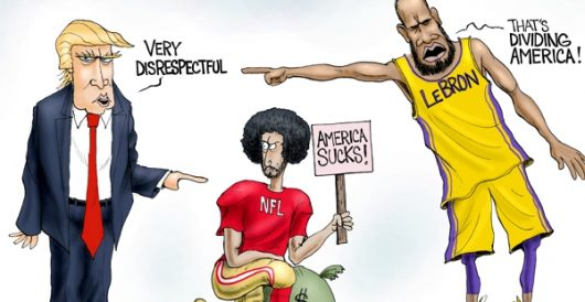 Cartoon of the Day: Division Playoff by A. F. Branco