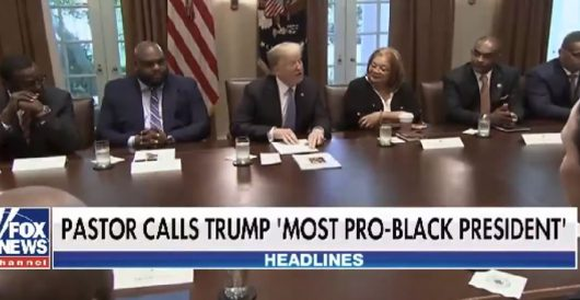 Black pastor declares Trump 'most pro-black' president of our lifetime by Rusty Weiss