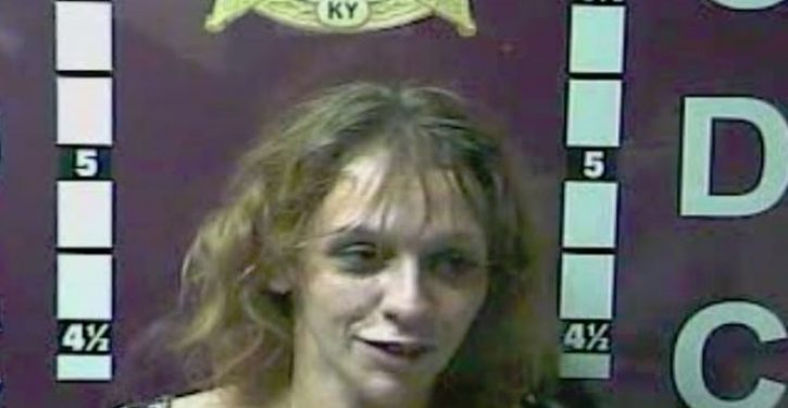 Woman used her own waste in attempt to evade arrest