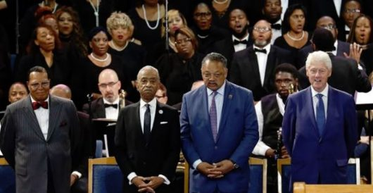 Scenes from a funeral: ABC, MSNBC eliminate Farrakhan from Aretha Franklin send-off by LU Staff