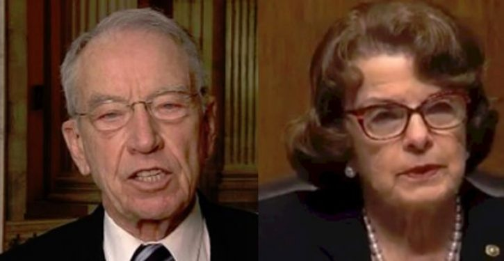 Grassley files for criminal investigation against Kavanaugh accuser; potential 10 yrs in prison