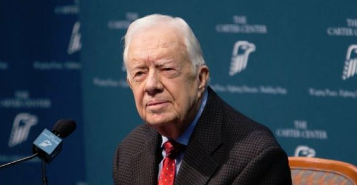 Jimmy Carter: Probing Russian interference would show 'Trump didn't actually win' in 2016