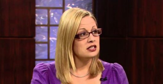 Dem Sen. Kyrsten Sinema is facing censure from her own party. Wait till you hear her 'crime' by Guest Post