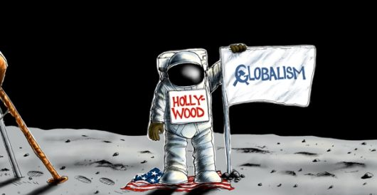Cartoon of the Day: Plant it, Hollywood by A. F. Branco