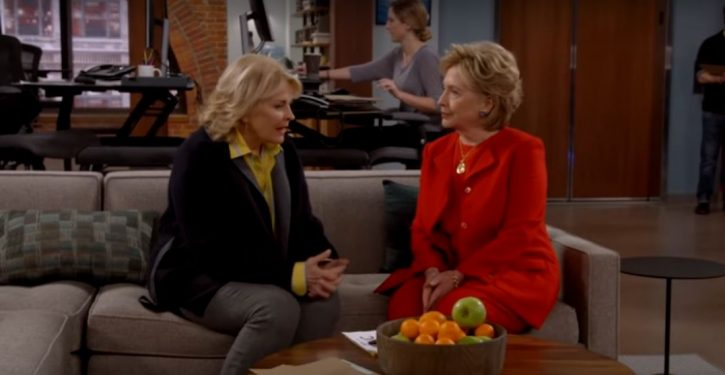 Hillary Clinton guest stars in Murphy Brown revival episode