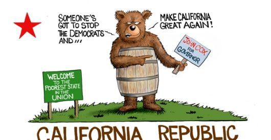 Cartoon of the Day: California Dreamin' by A. F. Branco