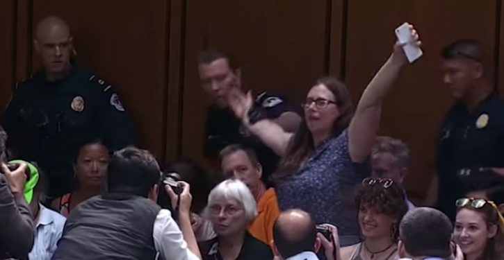 Doctors from TX attending Kavanaugh hearing saw 'protesters' being paid cash for planned disruption