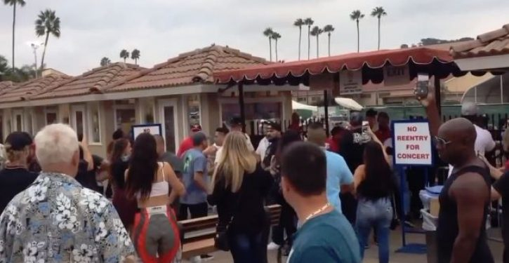 Man angry that rap concert was sold-out fires shots into crowd, police deputies respond