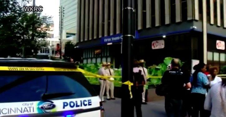 4 dead, including gunman, in shooting at bank headquarters in Cincinnati