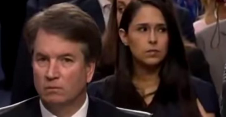 Unhinged #StopKavanaugh 'Resistance' accuses woman at hearing of flashing 'white power' hand signal