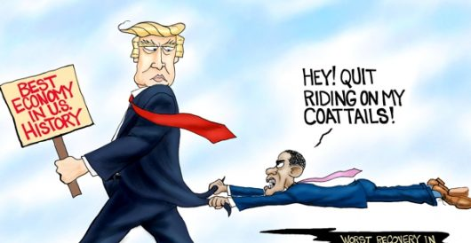 Cartoon of the Day: Whining from behind by A. F. Branco