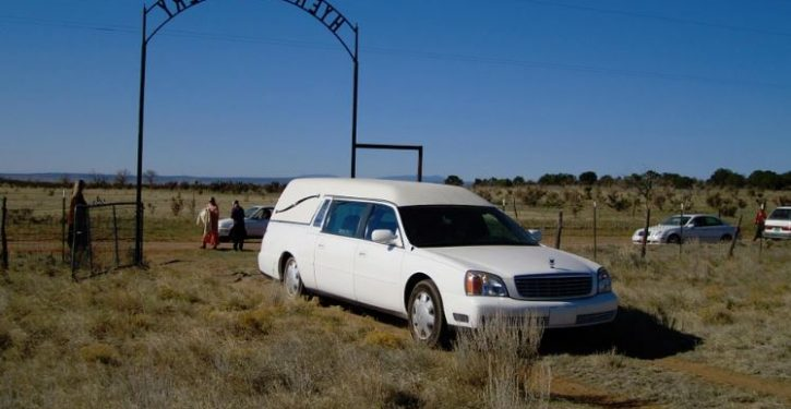 Car thief steals hearse — with corpse still in back