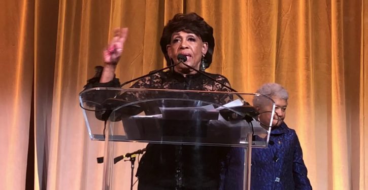 Maxine Waters wants Trump to resign — to 'free us' from the impeachment process