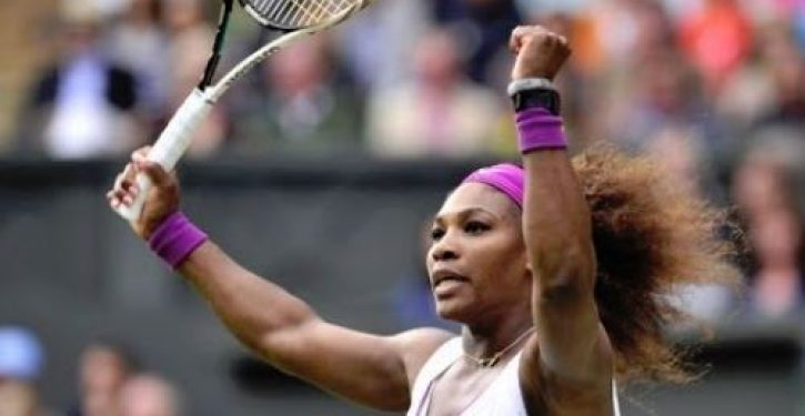 What does Serena Williams think every athlete 'should be grateful and honored' for?