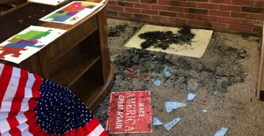 Police: Fire in newly-opened GOP office in Laramie, WY was set deliberately by Daily Caller News Foundation