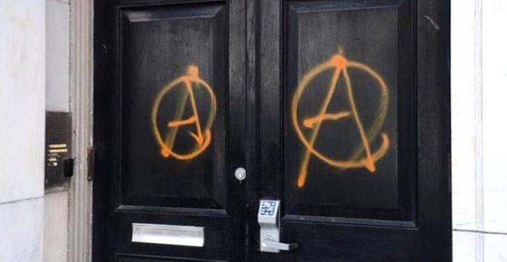 'We are not civil': Antifa vandalizes NYC GOP headquarters