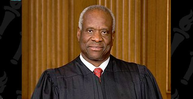 Why did Amazon cancel Justice Clarence Thomas during Black History Month?