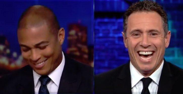 CNN's Don Lemon and Chris Cuomo do 'hilarious' impressions of Fox News Channel's Tucker Carlson