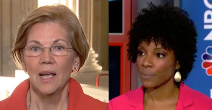 MSNBC analyst defends Elizabeth Warren, claims problem is  'racist' Cherokee Nation