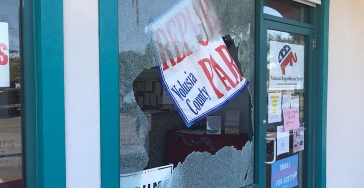 Gunman shoots out windows of GOP office in Florida