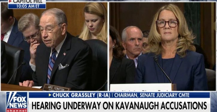 Sen. Grassley: 'In light of recently uncovered information,' demands Ford team's, Dems' correspondence