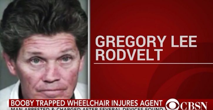 FBI agent injured with shot when booby-trapped wheelchair detonates in Oregon home