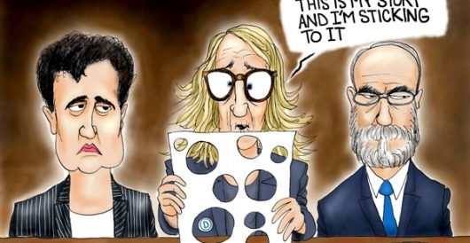 Cartoon of the Day: Full of holes by A. F. Branco