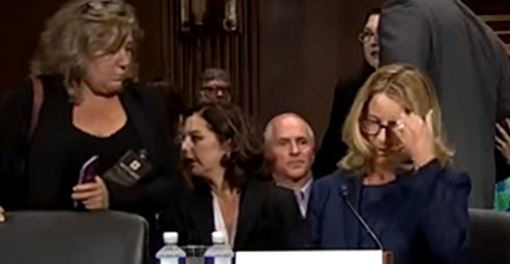 Christine Blasey Ford's DOJ/FBI connection