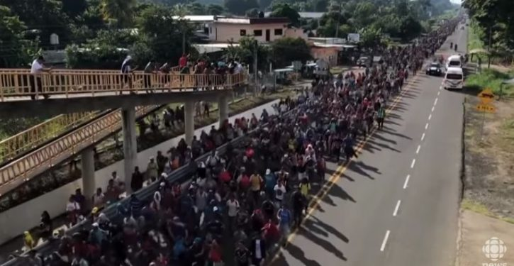 VP Pence's clue to who's behind migrant caravan suggests major implications; media silent