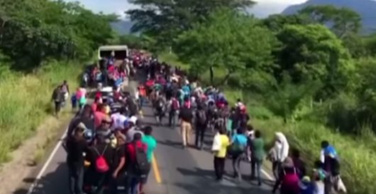 Trump's comments on caravan raise question: Are 'Middle Easterners' being smuggled in? by Daily Caller News Foundation
