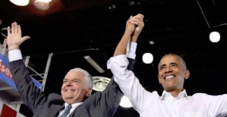 Obama endorses Nevada candidate just days after ex-wife levels physical abuse charge