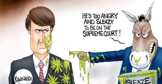 Cartoon of the Day: The Sleazing by A. F. Branco