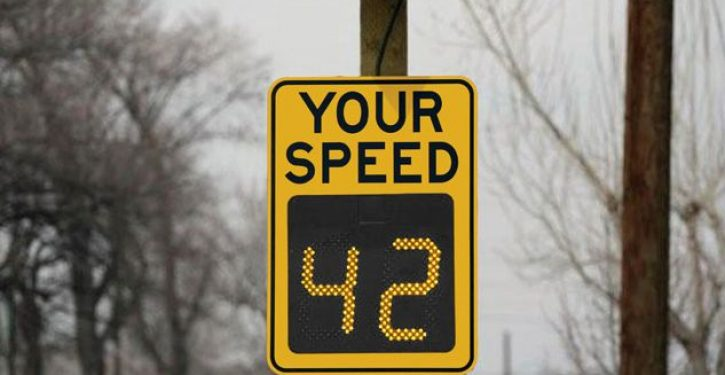 Speed monitor signs may be spying on you
