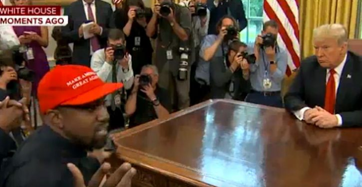 MSNBC: Kanye West's comments in Trump meet 'an assault on our White House'