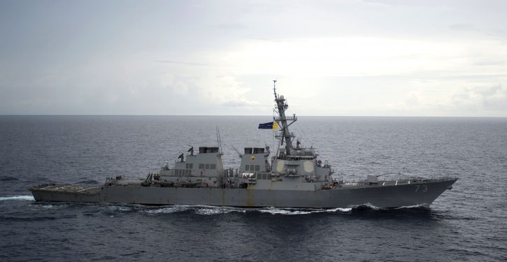 Navy: Chinese warship came within 45 yards of USS Decatur in the South China Sea