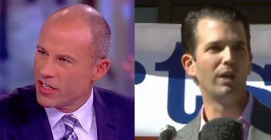 Michael Avenatti challenges Donald Trump, Jr. to a three-round mixed martial arts fight by LU Staff