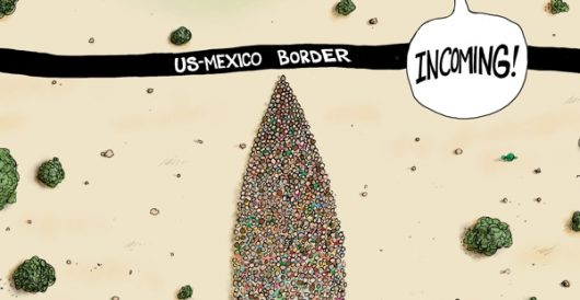 Cartoon of the Day: Incoming by A. F. Branco